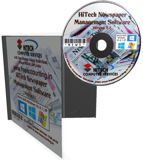 Newspaper Accounting Software CD Case
